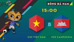 Thể thao - Trực tiếp U22 Việt Nam - U22 Campuchia (15h-17/8): Giữ đôi chân trên mặt đất