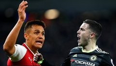 Thể thao - Hazard 'hạnh phúc' và Sanchez 'ủ dột' nâng tầm đại chiến Chelsea - Arsenal