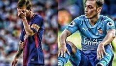 Bóng đá Quốc tế - Barca đạt thỏa thuận mua Ozil nhưng Messi ra mặt ngăn cản