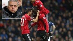 Bóng đá Quốc tế - Mourinho: Tôi không ăn mừng, Lukaku ăn mừng làm gì?