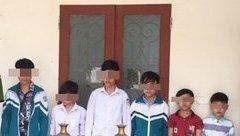 An ninh - Hình sự - Ninh Bình: 6 thiếu niên trèo tường, cưa cửa nhà gia chủ để trộm đồ
