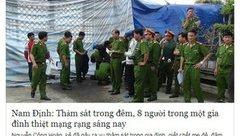 Pháp luật - Đối tượng tung tin đồn 'thảm sát ở Nam Định' khai gì?