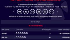 Tiêu dùng & Dư luận - Kết quả xổ số Vietlott ngày 17/1: Jackpot 46 tỷ vẫn 'vô duyên'