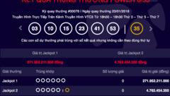 Tiêu dùng & Dư luận - Kết quả Vietlott ngày 23/1: Jackpot 272 tỷ đồng không người nhận