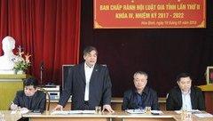 Góc nhìn luật gia - Hội nghị Ban chấp hành Hội Luật gia tỉnh Hòa Bình Khóa IV