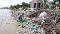 Điểm nóng - Biển xâm thực đe dọa cuộc sống người dân Nhơn Hải, Ninh Thuận