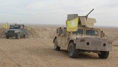 Quân sự - Syria: Lực lượng do Mỹ hậu thuẫn bất ngờ giành được nhiều thị trấn từ IS
