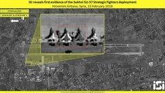 Quân sự - Từ động thái bất thường đến việc lộ hình ảnh và vị trí Su-57 của Nga tại Syria