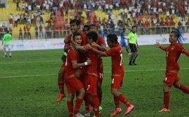 Thể thao - Clip: U22 Myanmar dễ dàng đánh bại U22 Singapore