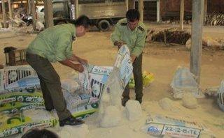 Chính trị - Xã hội - Vĩnh Long: Tịch thu, tiêu hủy gần 4 tấn phân bón giả