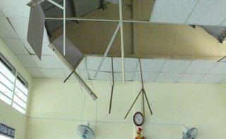 Tin nhanh - Vĩnh Long: Sập ốp trần trường học, 9 học sinh nhập viện