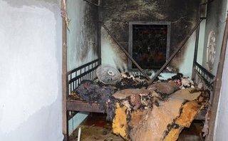 An ninh - Hình sự - Điều tra vụ con rể phóng hỏa đốt nhà làm 3 người bị bỏng