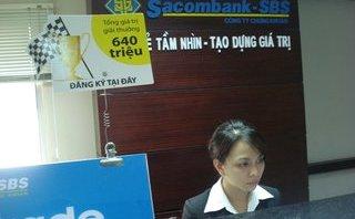 Tài chính - Ngân hàng - Cổ phiếu chứng khoán Sacombank 'thoát án' hạn chế giao dịch
