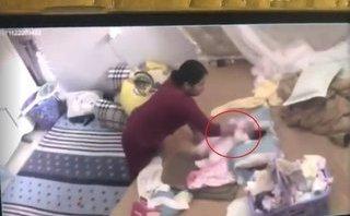 Xã hội - Tâm sự của chồng bà giúp việc bạo hành bé gái gần 2 tháng tuổi