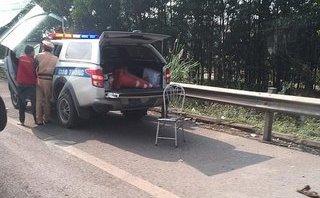 Xã hội - Tìm tung tích kẻ lái xe máy cố tình đâm CSGT làm 1 chiến sĩ tử vong
