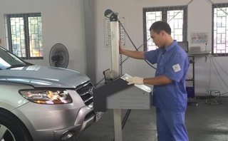 Xã hội - Vẫn 'treo' đăng kiểm đối với xe không chịu nộp phạt nguội
