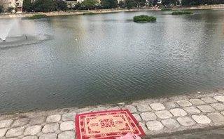 Tin nhanh - Hà Nội: Phát hiện thi thể người đàn ông trên hồ Ngọc Khánh