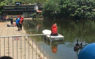 Tin nhanh - Hà Nội: Tìm thấy thi thể người đàn ông dưới hồ Thiền Quang