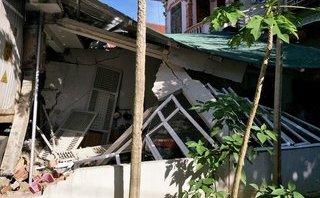Chính trị - Xã hội - Hà Tĩnh: Tai nạn kinh hoàng, xe container đâm sập nhà dân trên Quốc lộ
