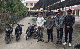 An ninh - Hình sự - Bắt giữ đường dây trộm xe máy của nhóm học sinh lớp 12
