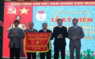 Xã hội - Hội Luật gia Hà Tĩnh nhận nhiều bằng khen nhân dịp 20 năm thành lập