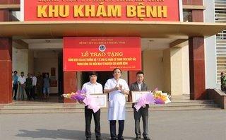 Tin nhanh - Bộ trưởng Y tế tặng Bằng khen cho 2 cá nhân vượt 200km hiến máu cứu người