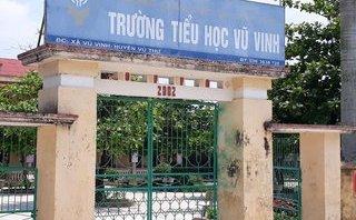 Giáo dục - Thái Bình: Cô giáo đánh học sinh lớp 1 bầm tím tay