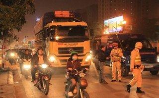 Mới- nóng - CSGT Hà Nội hoạt động ngày đêm đảm bảo trật tự dịp Tết 2018