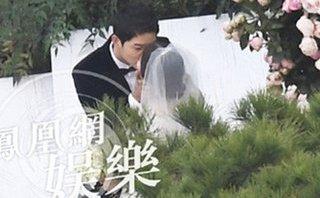 Ngôi sao - Đám cưới Song Hye Kyo - Song Joong Ki: Phát sốt với nụ hôn ngọt ngào