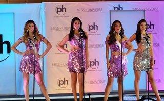 Sự kiện - Sốc vì Nguyễn Thị Loan thi bán kết Miss Universe 2017 ở sân khấu chật chội, thiếu ánh sáng