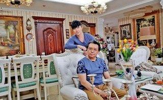 Ngôi sao - Cận cảnh ngôi nhà triệu đô dát vàng của gia đình ca sĩ Nathan Lee ở Hà Nội