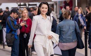 Ngôi sao - Nhã Phương cá tính với phong cách tomboy khi tới Cannes quảng bá phim