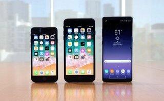 Công nghệ -  iPhone 8 Plus đánh bại iPhone 8 và Samsung Galaxy Note 8 trong bài test va đập