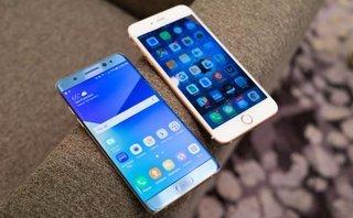 Công nghệ - Bảng giá điện thoại iPhone, Samsung tháng 11/2017: Dậm chân tại chỗ