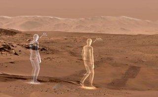 Công nghệ - Công nghệ thực tế ảo đã có thể giúp mọi người 'đi bộ trên sao Hỏa' dễ dàng