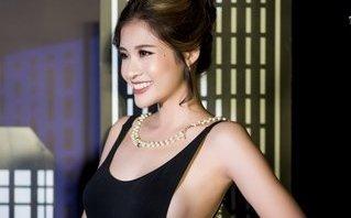Giải trí - Hoa hậu Phan Hoàng Thu gây hút ánh nhìn vì quá gợi cảm