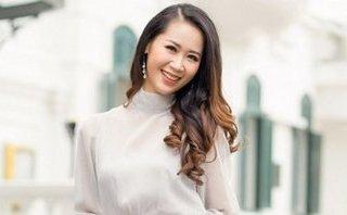 Giải trí - Hoa hậu Dương Thùy Linh sành điệu đón mùa thu Hà Nội