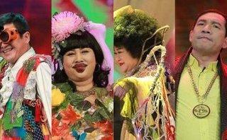 Ngôi sao - Táo quân 2018: Bật cười với trang phục kỳ dị của các Táo