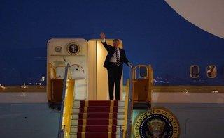Xã hội - Tổng thống Donald Trump đến Hà Nội