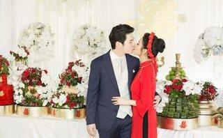 Ngôi sao - Mai Hồ bất ngờ công bố loạt ảnh ngọt ngào trong lễ đính hôn bí mật