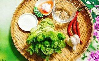 Cộng đồng mạng - Món ngon mỗi ngày: Ngon hết ý với rau mầm đá muối chua cay