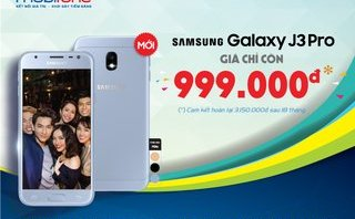 Công nghệ - MobiFone tuyên bố bán Samsung Galaxy J3 Pro dưới 1 triệu đồng