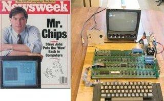 Công nghệ - Đấu giá chữ ký của Steve Jobs và máy tính Apple 1 gần 16 tỷ đồng