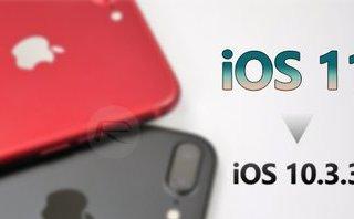 Công nghệ - Apple ngừng cho phép hạ cấp iOS 10.3.3 và iOS 11
