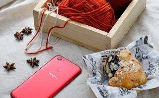 Công nghệ - OPPO F5 'đốt mắt' tín đồ với màu đỏ rực rỡ trong mùa lễ hội