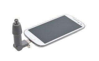 Sản phẩm - Độc đáo smartphone kết nối máy xén… lông mũi