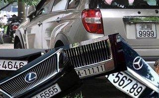 Sau vô lăng - Đề án cấp biển số xe ô tô thông qua đấu giá: Sẽ đấu giá 5 nhóm biển số xe