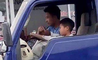 Góc nhìn luật gia - Mức xử phạt nào dành cho người lớn vụ cháu bé 10 tuổi lái xe tải?