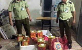 Pháp luật - Quảng Ninh: Bắt lái xe vận chuyển trái phép hơn 50kg pháo