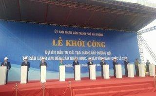 Chính trị - Xã hội - Hải Phòng: Đầu tư gần 1.000 tỷ đồng nâng cấp Quốc lộ nối với tỉnh Thái Bình